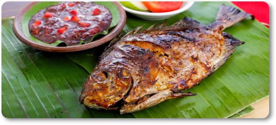 danie indonezyjskie ikan bakar