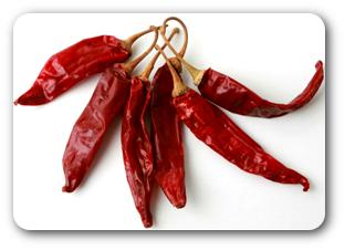 suszona papryka chili