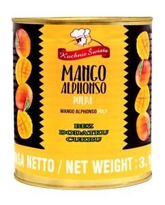 pulpa mango alphonso bez cukru
