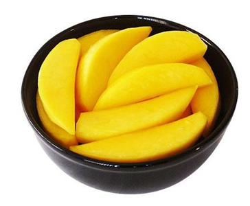 mango slices in syrup