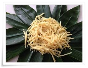 sałatka z pędami bambusa