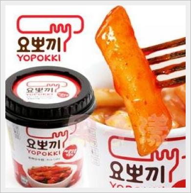 yopokki kimchi cup