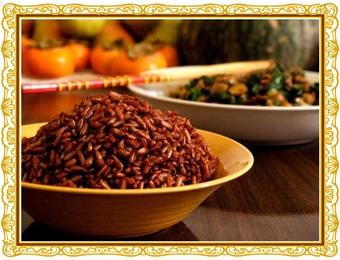 ryż czerwony   właściwości
