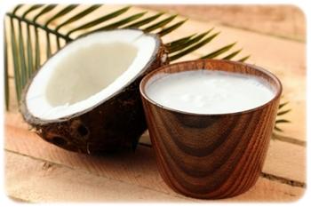 napój z kokosa