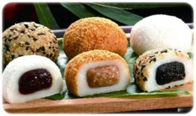 traditional asian dessert