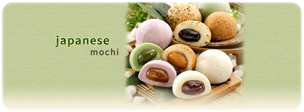 mochi from glutinous rice