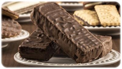 wafelki czekoladowe bezglutenowe