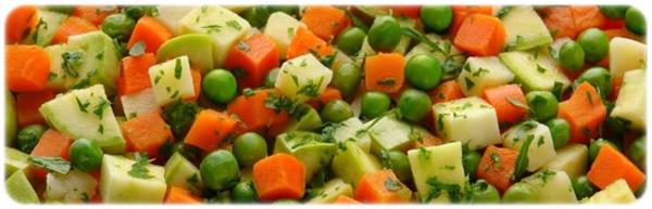frozen vegatable mix