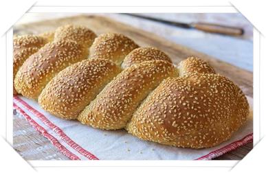 italian bread with sesamei