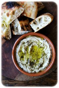yoghurt with zatar