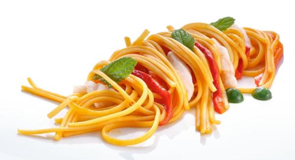 linguine pasta dish