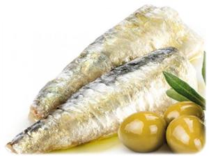 sardinien in olivenol