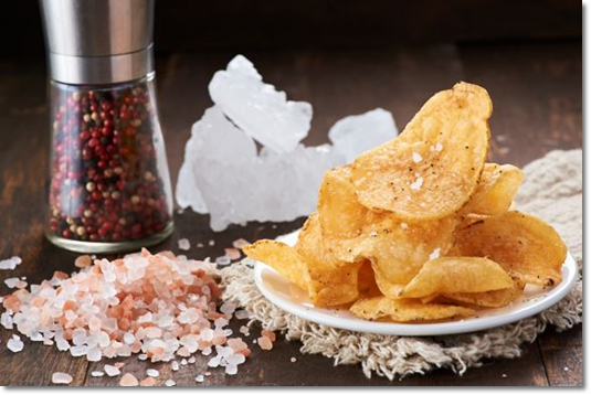 smoked sea salt chips