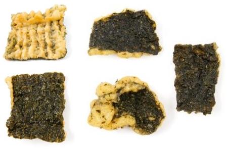chipsy z glonów