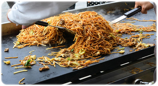 yakisoba street food