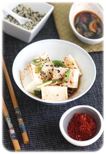 tofu z gochugaru