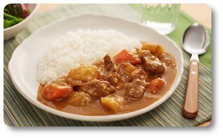 kostki curry