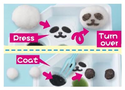 kracie panda kit