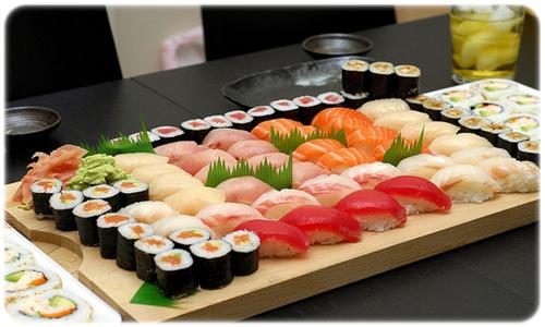 trawa do sushi