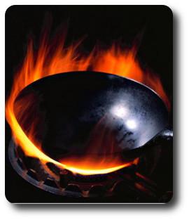 wypalanie woka