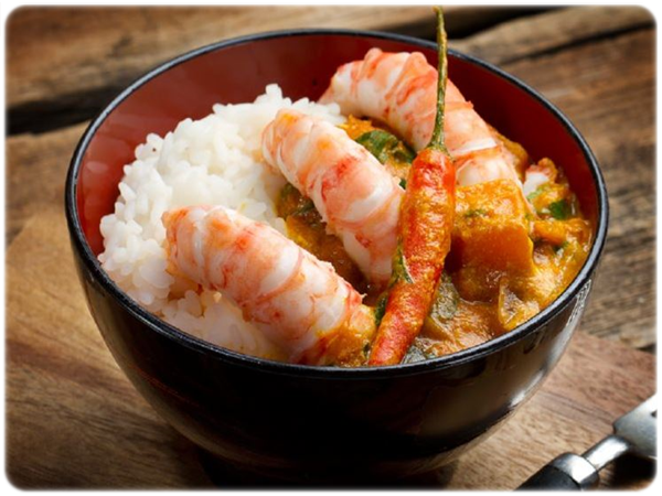 black tiger prawns recipe