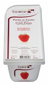 frozen raspberry mousse