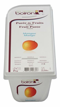 frozen mango mousse