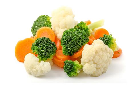 frozen broccoli mix
