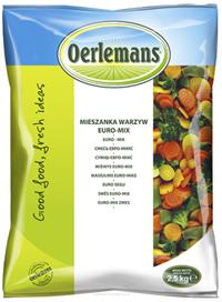 frozen euromix vegetable