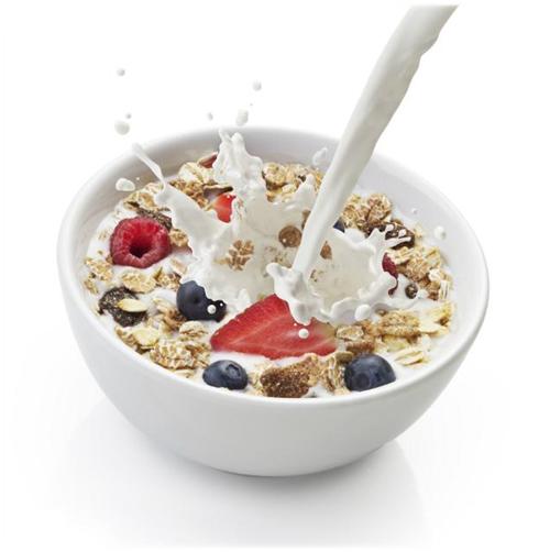 milk with cereals