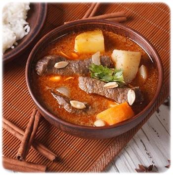 muzułmańskie curry