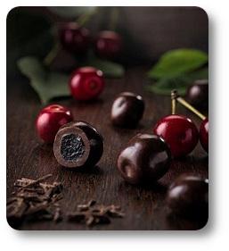 wiśnie w czekoladzie