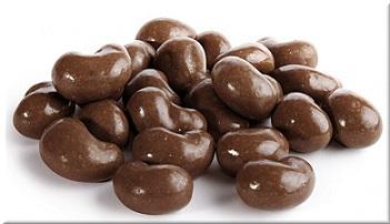 orzechy nerkowca w czekoladzie