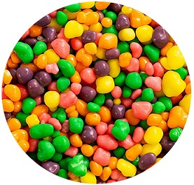 kolorowe cukiereczki