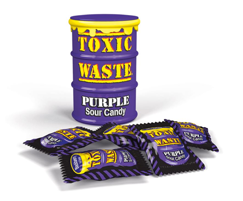 toxic waste purple candy