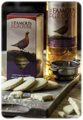 the famous grouse shortbread