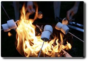 pianki do pieczenia na ognisku