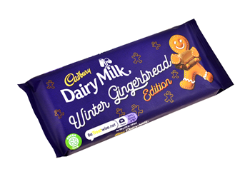 cadbury winter gingerbread