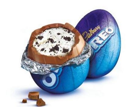 jajka czekoladowe oreo