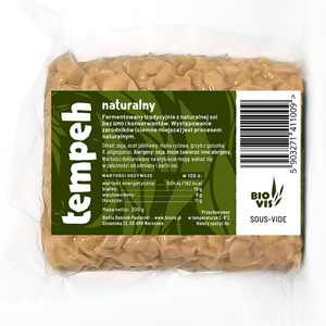 natural tempeh from poland