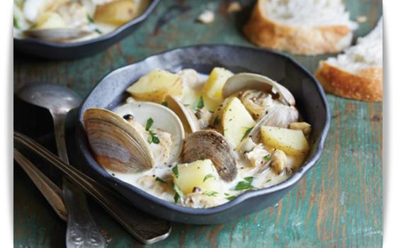 clams chowder