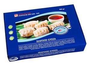 frozen seafood gyoza