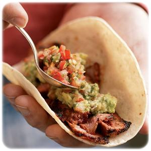 świeże tacos