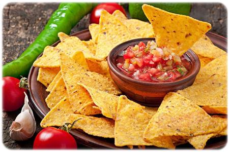 tortilla chips salsa