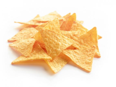 crispy salted tortilla chips