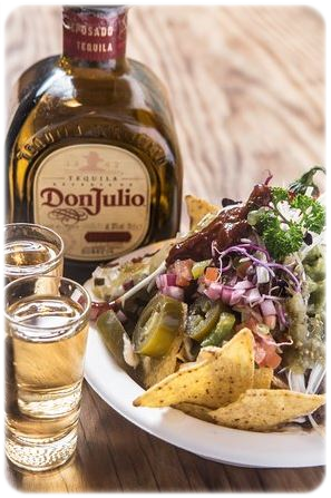 tequila tortilla rolls