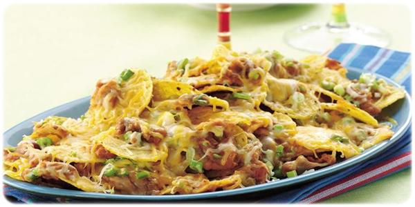 zapiekanka z fasolą i nachos