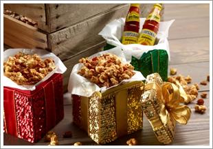 Popcorn Louisiana sauce