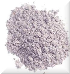 niebieska mąka
