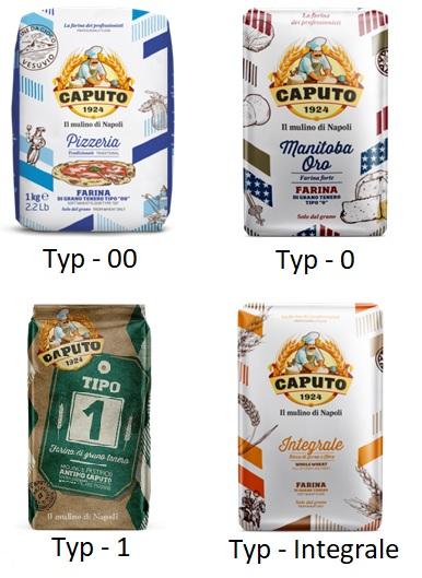 włoskie mąki rodzaje